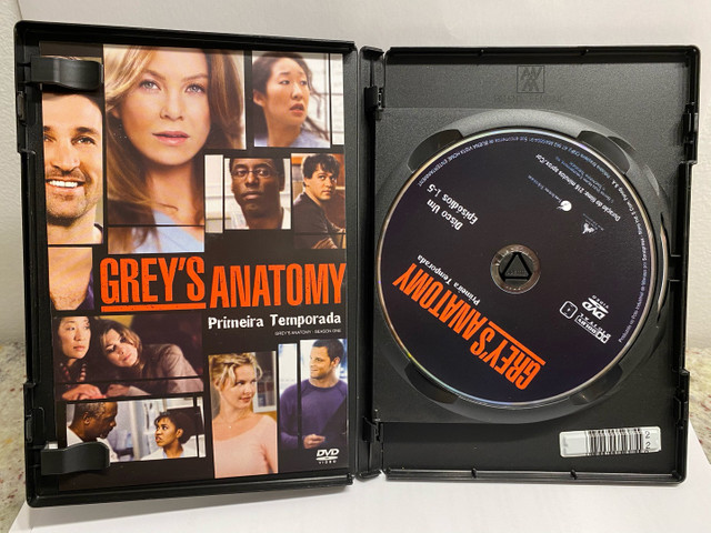 Greys Anatomy - 1, 2 E 3 Temporadas - Original - Foto 2