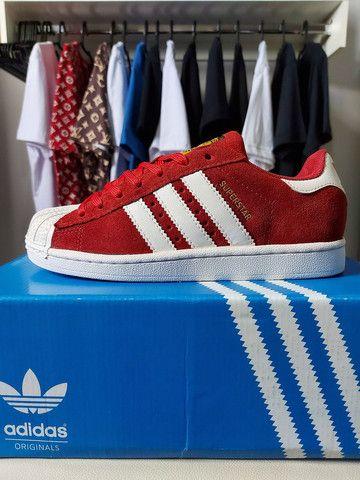 "Adidas Superstar ""Camurça"""