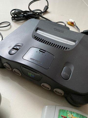 Nintendo 64 - Original! Completo!!! - Foto 2