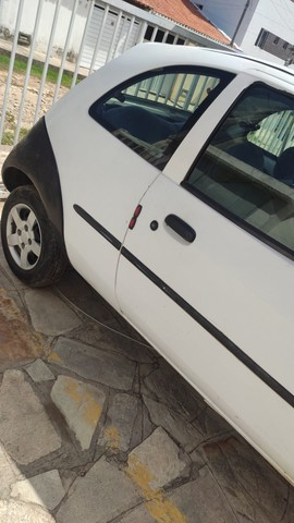 Ford Ka branco - Foto 3
