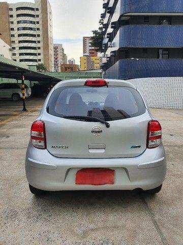 Nissan March SV 1.6 2013/2014 16V Prata Classic - Foto 6