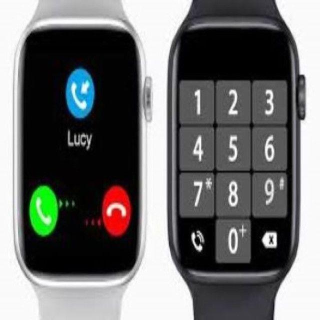 Smartwatch Iwo 12 lite Pro Faz e recebe ligaçoes passa musicas - Foto 3