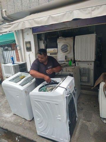 Assistência técnica de máquina de lavar roupas Brastemp Consul Eletrolux visitas grátis - Foto 3