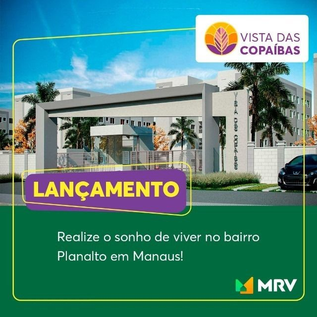 Grande Lançamento Vista dos Copaíbas no Planalto.<br>