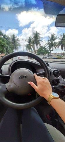 Ford Ka branco - Foto 4