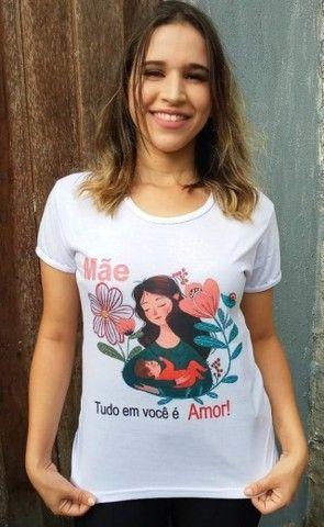 Camisas Personalizada Dia das Mães - Foto 2