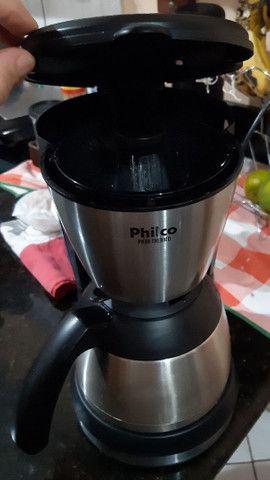 Cafeteira elétrica inox Philco 220v - Foto 4