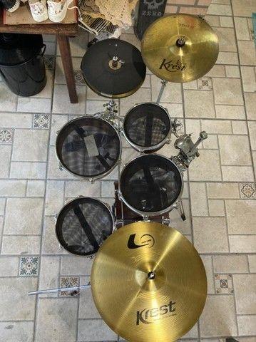 Bateria Coffee Kit - Kr Custom Drums - Foto 6