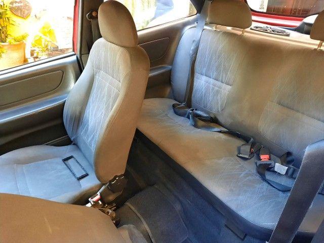 Chevrolet Celta Spirit  1.0 8v 05 Vermelho  * Parcelo na Promissória * - Foto 7