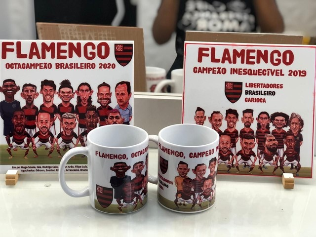 Kit caricatura Flamengo - Foto 4