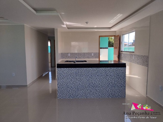 Lindíssima Casa, 3 dormitórios e Terreno Grande em Itaipuaçú! - Foto 7