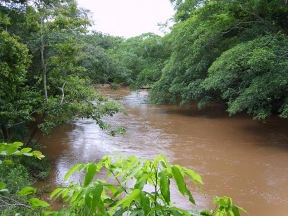 3ha na beira do Rio Cachoeirão - Aceitamos imóvel ou carro parte pagamento