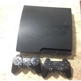 Playstation 3 com 2 controles + jogos