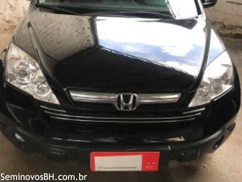 Honda CR-V 2.0 16V EX-L 4x4 2009 Preta - Foto 2