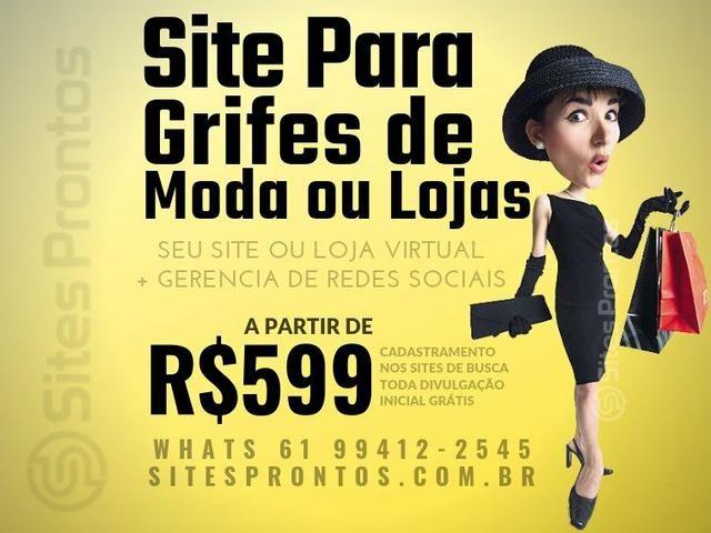 Site Para Grifes de Moda ou Lojas