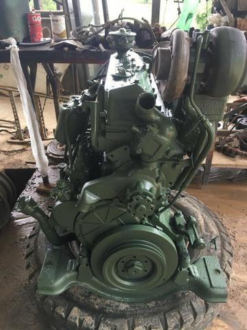 Motor OM 366 Mercedes 1218 1418 1618 1620 base de troca - Foto 2