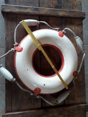 Bóia nautica navio antiga raridade