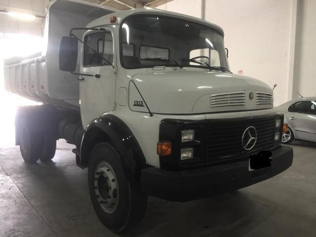 Vendo caminhão MBB 1313 caçamba - Foto 3