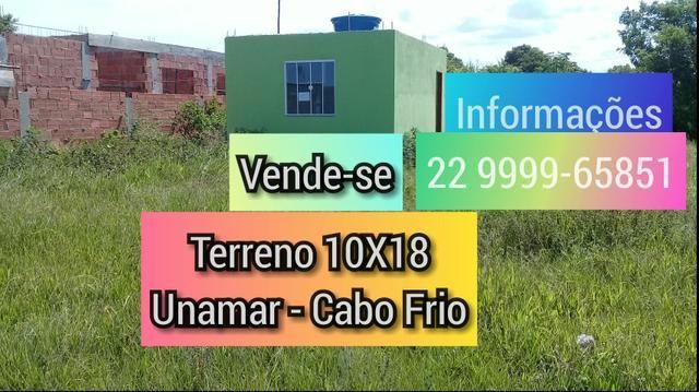 Terreno 10X18 Unamar-Cabo Frio