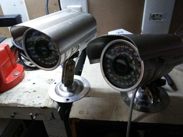 DVR Barato + monitor + 4 Cãmeras