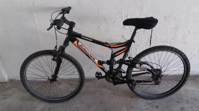 Bicicleta Sundown Mirage Aro 26 C/ Suspensão, Usada