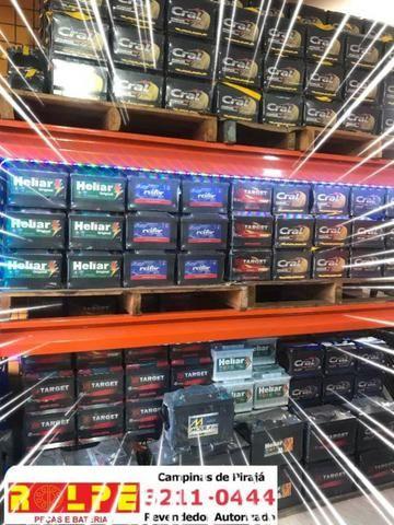 Rolpe Bateria_Temos o Maior Estoque de Baterias Automotivas Com Menor Preço de Salvador!!