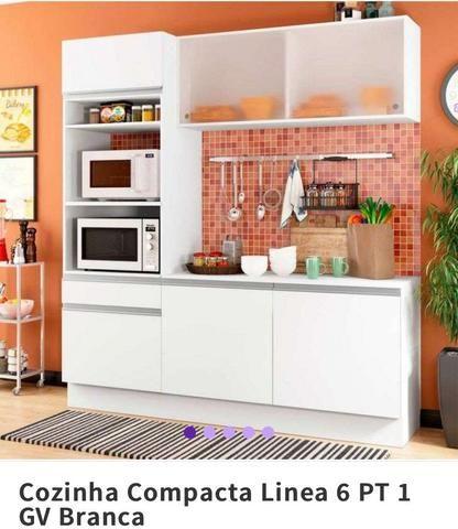 Cozinha Compacta LINEA 6pçs. NOVA LACRADA