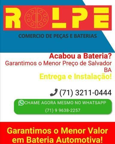 Rolpe Bateria_Temos o Maior Estoque de Baterias Automotivas Com Menor Preço de Salvador!! - Foto 2