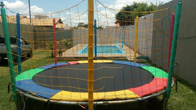Pula, piscina, escorregador, gangorra - Foto 4