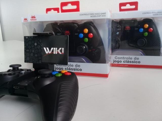 Suba de Nivel agora com o Controle Game Pad Para celular KP 4030 (Loja na cohab )entregamo