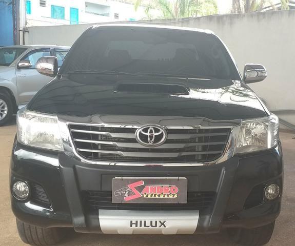 Toyota hilux srv cd 3.0 4x4 aut. 2013, ligar * tâmila - Foto 2