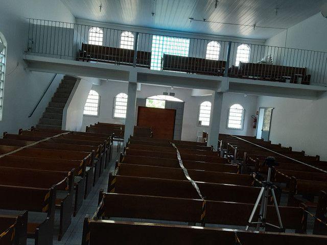 Bancos de madeira para igreja  - Foto 3