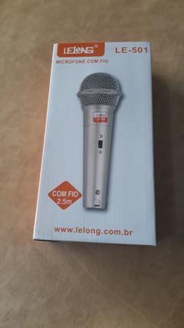 Microfone com Fio Novo - Foto 2