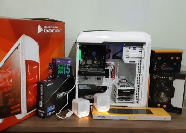 PC game 9°geração, i5 9400f, HD ssd240g, Gtx1050, 8g dd4, até 10x sj