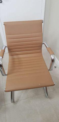 2 Cadeiras escritorio ou consultório - Foto 4