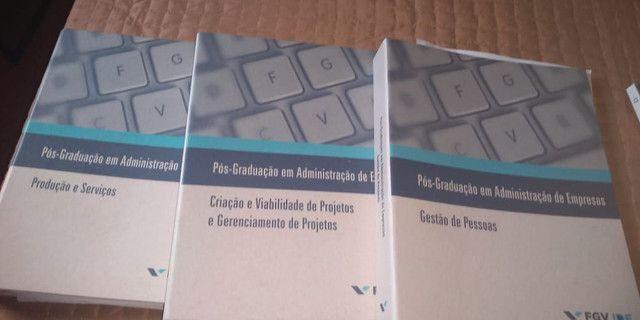 Livros pós em ADM Empresas FGV - Foto 2