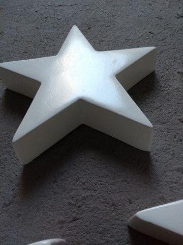 05 estrelas em fibra de vidro decoração - Foto 4