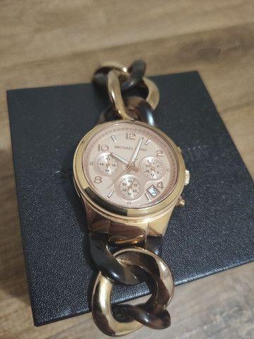 Relógio feminino Michael Kors Mk4269 - Rose - Foto 3