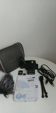 Câmera Vídeo Zoom Q4 Full Hd 1080 30fps - Não Q4n - Foto 4