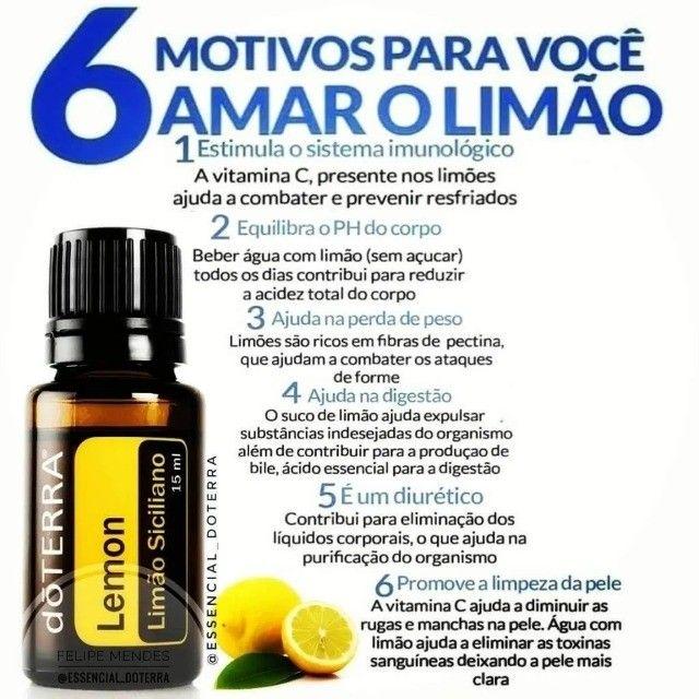 Óleo Essencial doTerra -Lemon - Limão-Siciliano - Foto 4