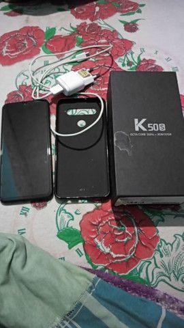Vendo esse LG k50s 570 com um fio de trincos mais ta na película vindo busca deixo por 550