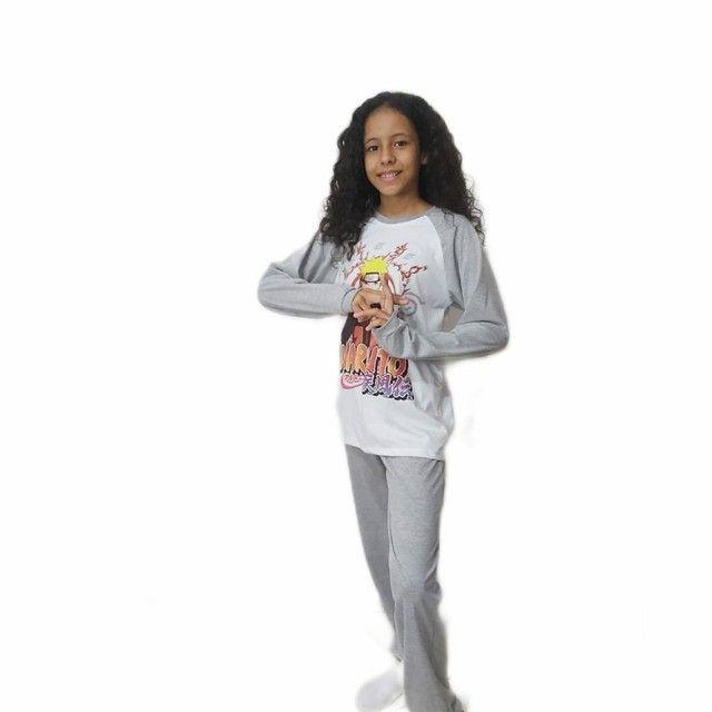 Pijama infantil personagem 02 à 12 anos - Foto 5