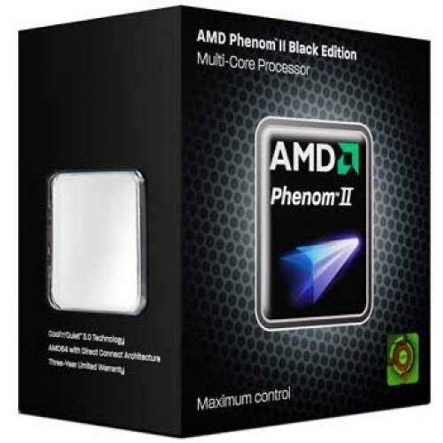 Processador gamer AMD PHENOM X4 3.4 hz Black Edition - Foto 2