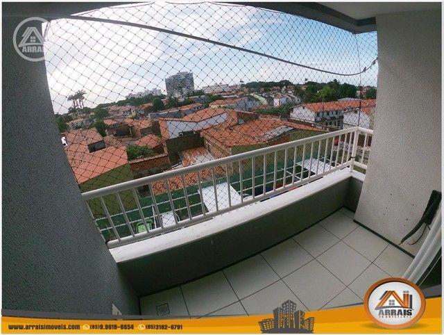 Apartamento com 3 dormitórios à venda, 64 m² por R$ 250.000 - Maraponga - Fortaleza/CE - Foto 6
