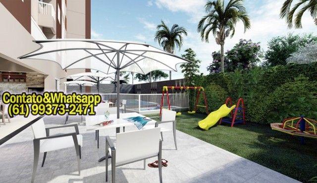 Apartamento em Goiânia, 2Q (1Suíte), 55m2, Garagem, Lazer Completo! Parcela. - Foto 8