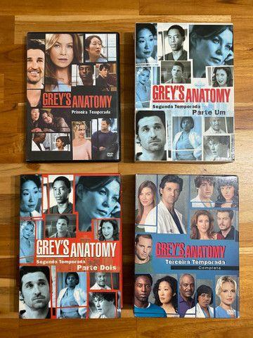 Greys Anatomy - 1, 2 E 3 Temporadas - Original