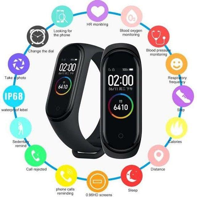 Mi Smart Band4 Relógio Inteligente Original Versão Global  - Foto 4
