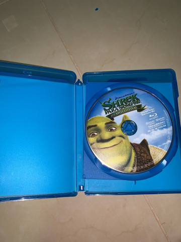 DVD Blu-ray 3D Shrek Para Sempre  - Foto 2
