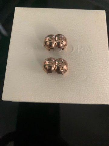 Clip trava rosé só está descascada((250$) os 2  ?o prata os 2:350$ - Foto 3