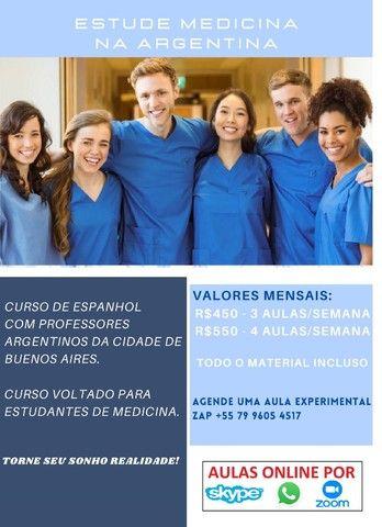 Aulas preparatorias online de Espanhol para estudar na Argentina